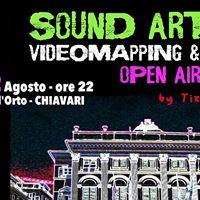 SOUND ART 2.0 Videomapping &amp DJ set Open air disco