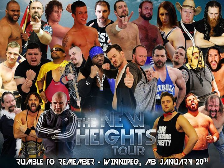 CWE Live In Winnipeg Ft 50 Man Rumble To Remember