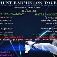 Talent Hunt Badminton Tournament