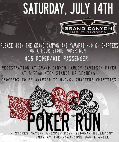 4 Store Poker Run