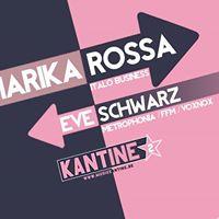 Marika Rossa vs. Eve Schwarz I Kantine Augsburg