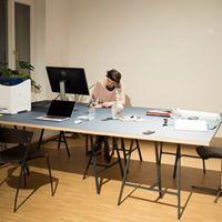 Schner Schreibtischplatz in Atelier Prenzlauer Berg