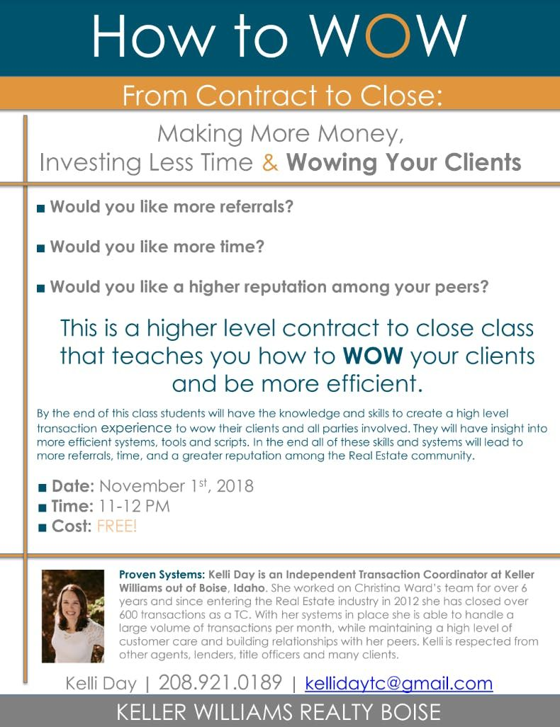 Would you like to date your client