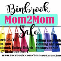 Binbrook Mom2Mom Sale