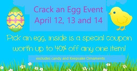 Crack an Egg Event