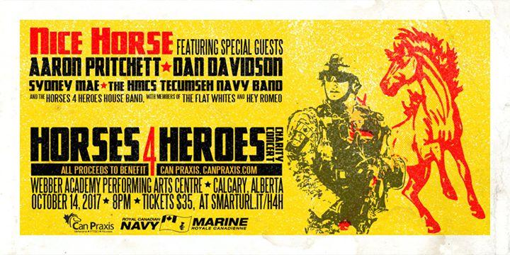 Horses 4 Heroes ft  Nice Horse, Aaron Pritchett, Dan