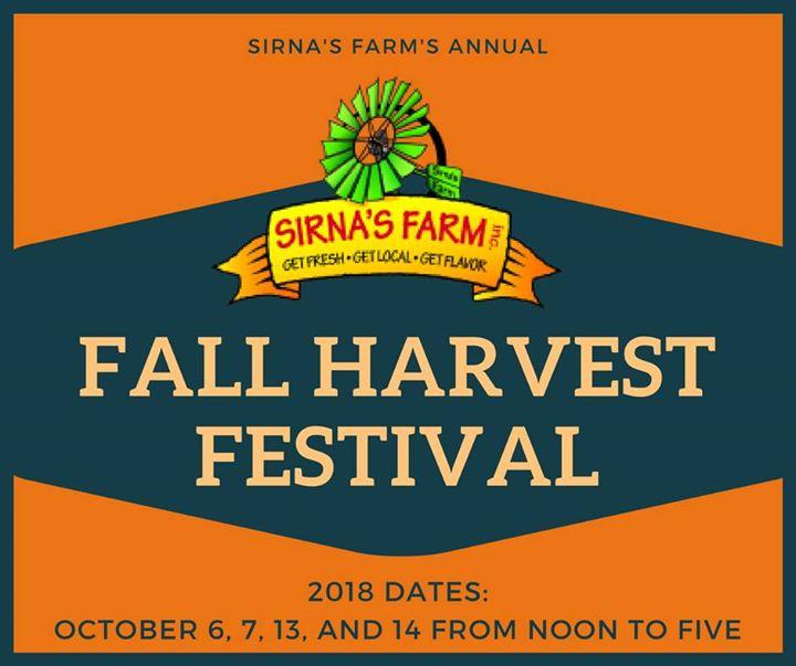Sirnas Annual Fall Harvest Festival