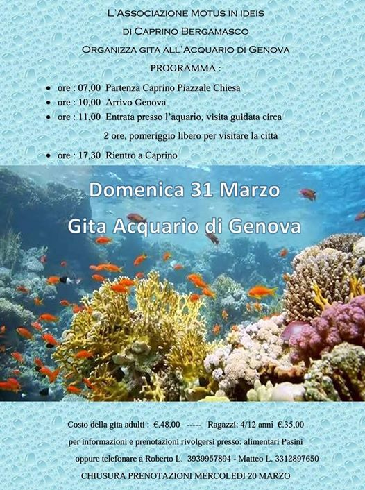 Gita Acquario di Genova