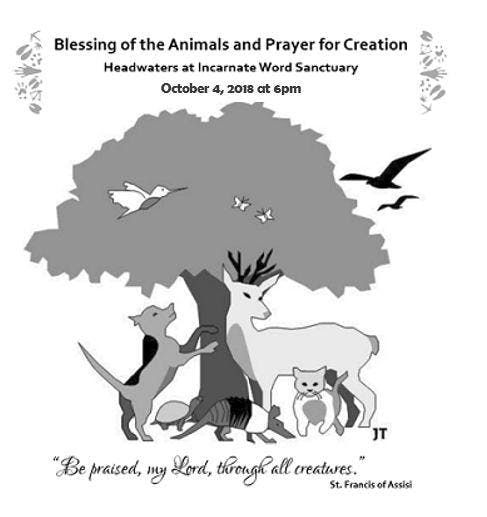 Blessing of the Animals and A Prayer for Creation at