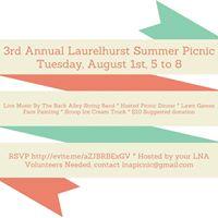 Annual Laurelhurst Summer Picnic - National Night Out