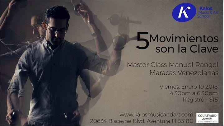 Master Class 5 Movimientos son la Clave