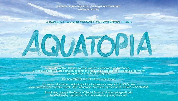 Aquatopia - A Participatory Performance