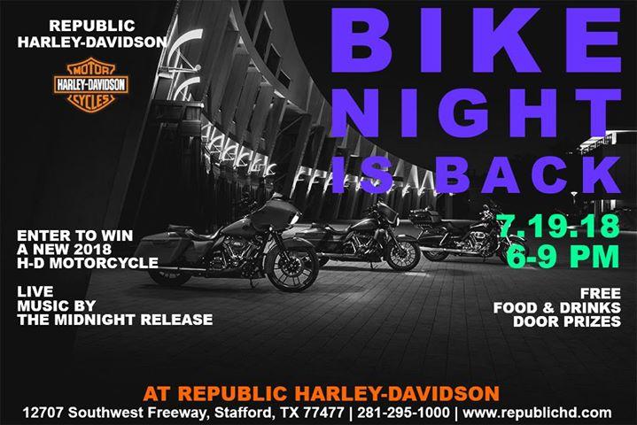 Bike Night at Republic Harley-Davidson