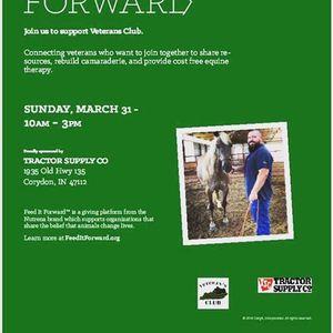 Feed it Forward with Veterans Club