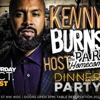 Homecoming Dinner and Day Party hosted by Kenny Burns