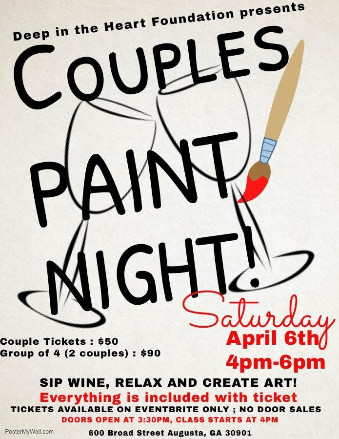 Couples Night Paint Party
