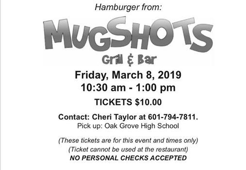 Mugshots' Fundraiser at Oak Grove High School (Hattiesburg