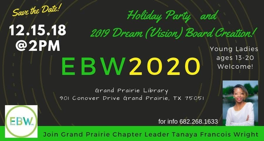 EBW - Grand Prairie TX Chapter Meeting