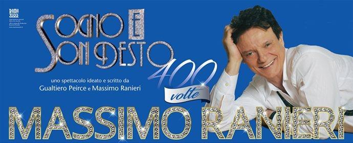 Massimo Ranieri - Sogno e son desto 400 volte - Salerno