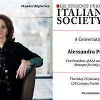 A Conversation with Alessandra Perrazzelli