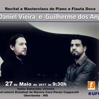 Recital e Masterclass com Daniel Vieira e Guilherme dos Anjos