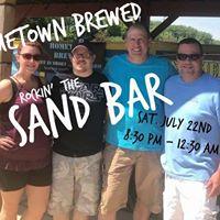 HomeTown Brewed Rockin the Sand Bar