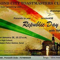38th Meet Up of Diamond City Toastmasters Club