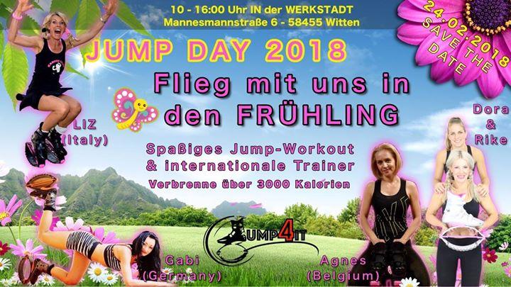 Jump Day 2018 - Flieg mit uns in den Frhling
