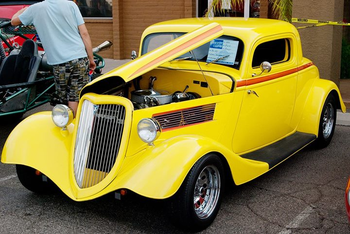 Classic Car Show At Little Anthonys Diner Tucson - Tucson classic car show