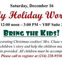Family Holiday Workshop