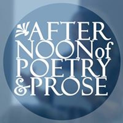 Afternoon of Poetry and Prose
