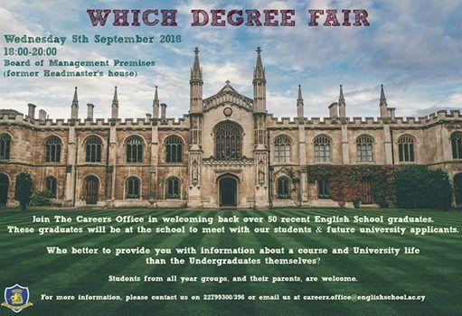 Which Degree Fair