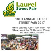 Hosted by the Laurel Street Fair - Stop By Melissa Bynums Booth