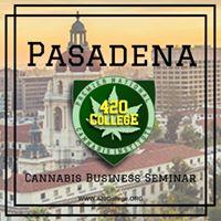 420 College Cannabis Business Seminar