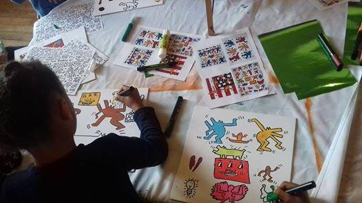 Atelier cratif  Keith Haring et son univers en folie