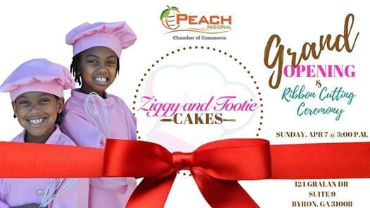 Ziggy and Tootie Cakes Grand Opening