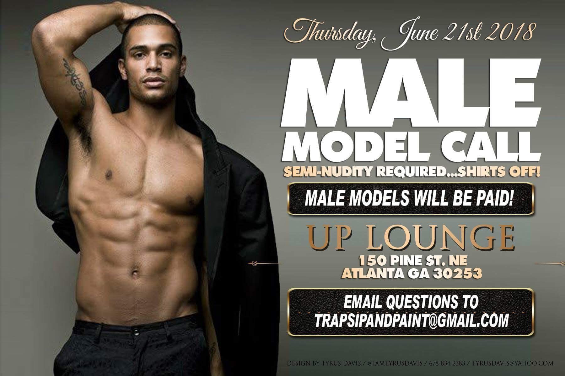 Model Call at UP Restaurant and Lounge, Atlanta