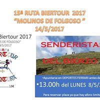 15 Ruta Biertour 2017 &quotMolinos de Folgoso&quot