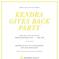 Kendra Scott Gives Back to Tu Nidito