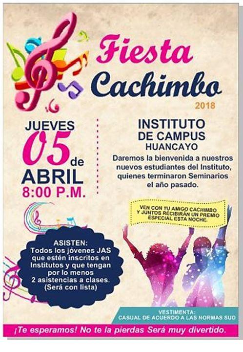 Fiesta de cachimbos 2018, solo para inscritos at Instituto de ...