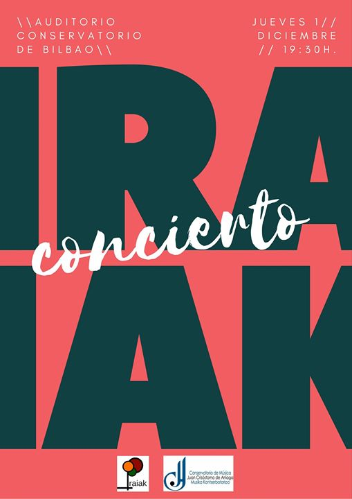 Iraiak en concierto.