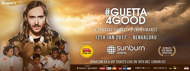 Guetta 4 Good (A Special Charity Performance) - Bengaluru