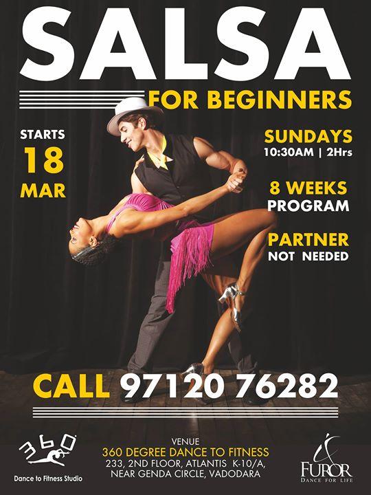 Salsa Sundays - New Beginner Batch (Vadodara)