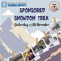 Charity Week Sponsored Snowdon Trek