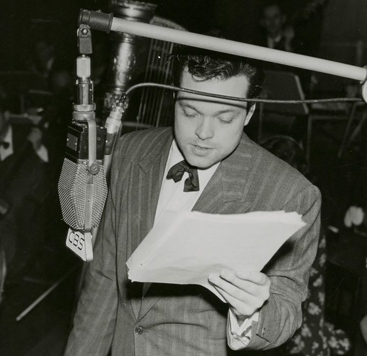 Listening to Orson Welles on the Air