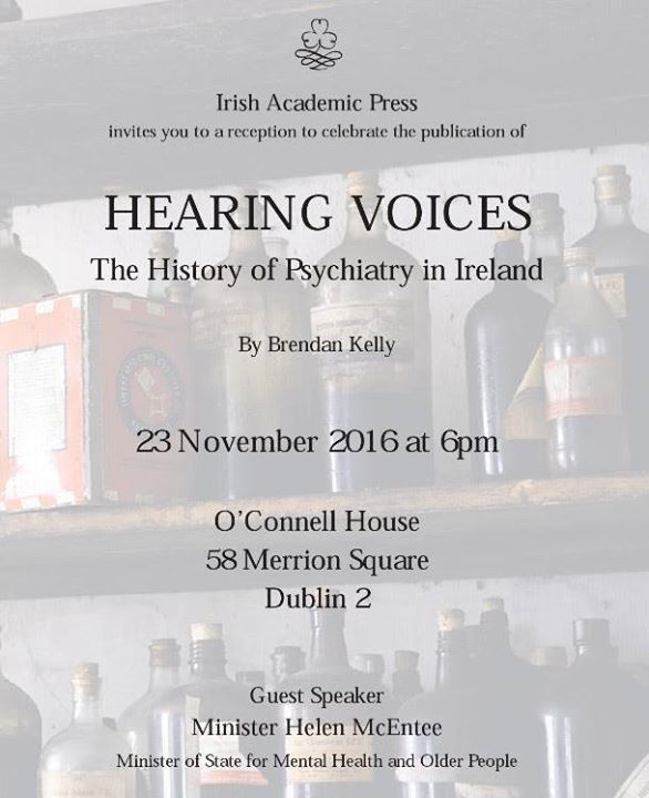 Book Launch Hearing Voices At OConnell House 58 Merrion Square