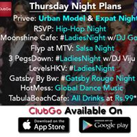 Thursday Night Party Plans  ClubGo 91-9999030363