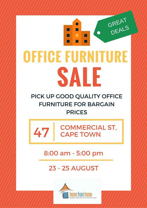 Office Furniture SALE At Scalabrini Centre Of Cape Town