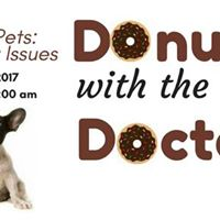 Donuts with the Doctors No Bad Pets - Behavior Issues