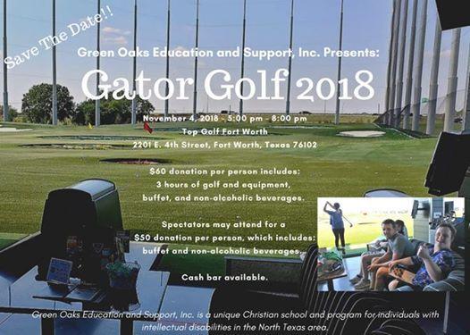 Gator Golf 2018 At Topgolf Fort Worth Tx Fort Worth